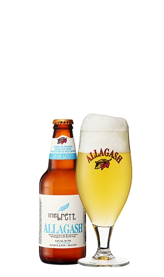 Allagash Brewing Co. Little Brett ABV: 4.8% 4 Pack