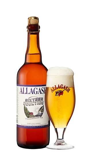 Allagash Brewing Co. Sixteen Counties ABV: 7.3%  750 mL