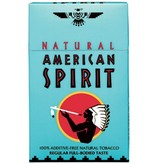 American Spirit Blue Box