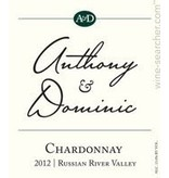 Anthony & Dominic Chardonnay ABV: 13%  750 mL