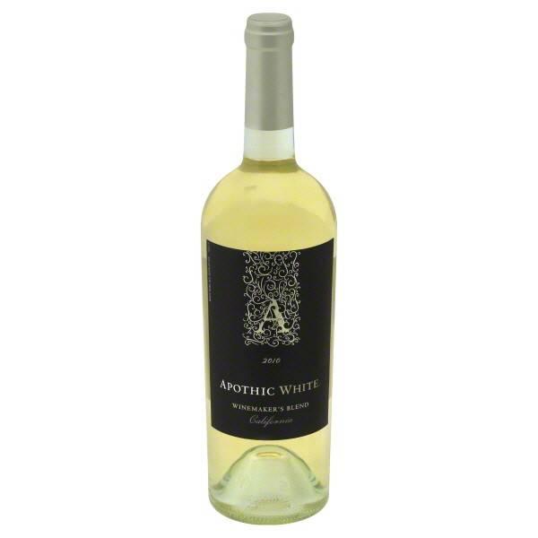 Apothic White Blend 2015  ABV: 12%  750mL