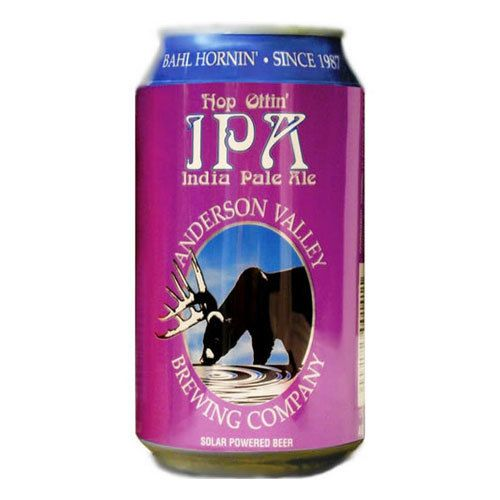 Anderson Valley Hop Ottin IPA ABV: 7% 6 Pack