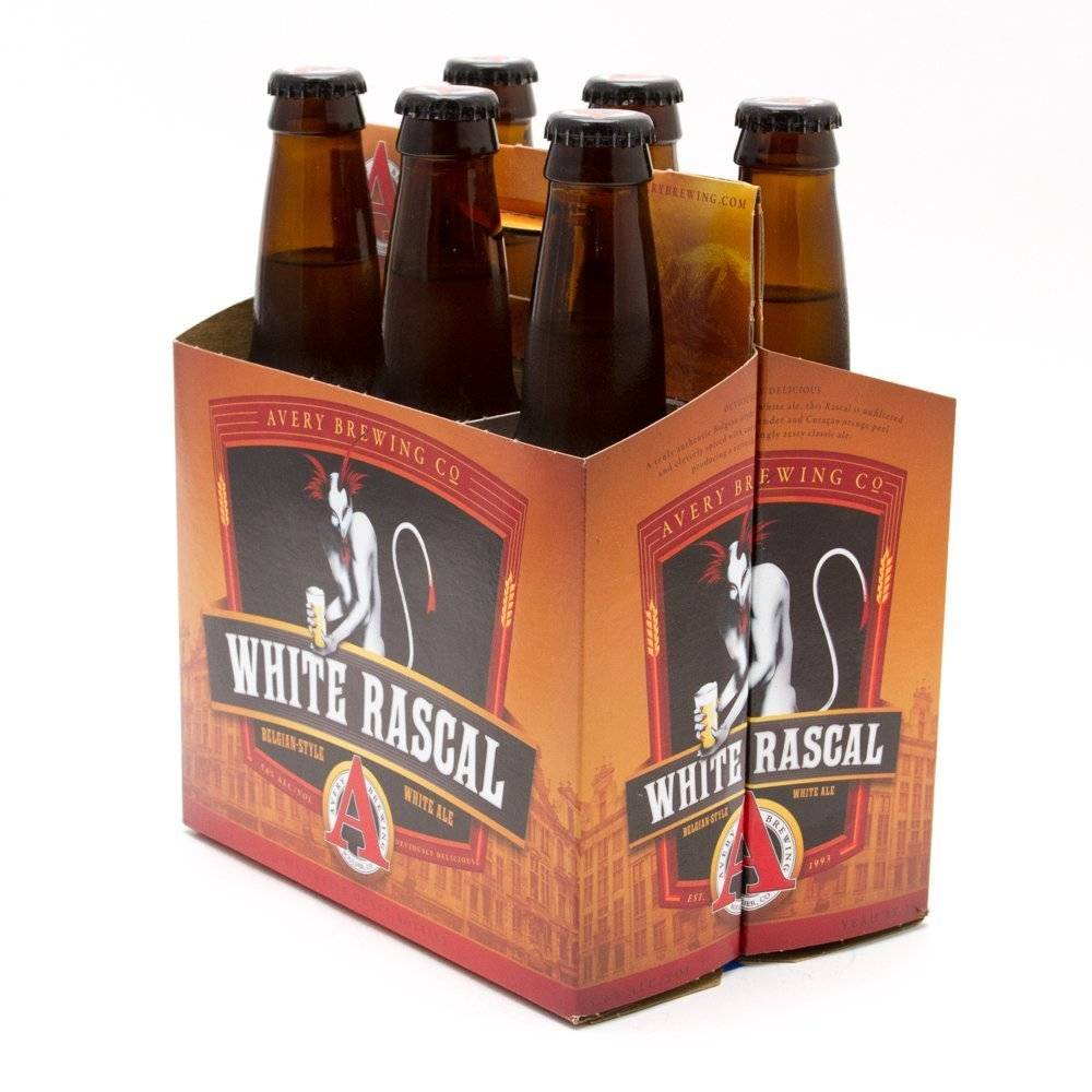 Avery Brewing Co. White Rascal Ale ABV: 5.1% 6 Pack