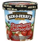Ben & Jerry's Strawberry Cheesecake Ice Cream 1 Pint