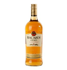 Bacardi Gold Rum Proof: 80  750 mL