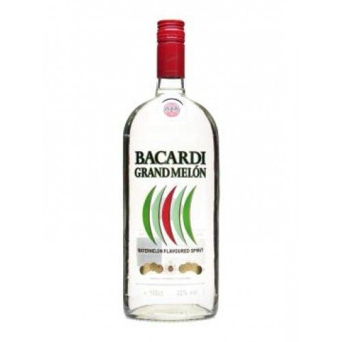 Bacardi Grand Melon Rum Proof: 70  750 mL
