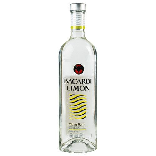 Bacardi Limon Citrus Rum Proof: 70  200 mL