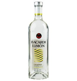 Bacardi Limon Citrus Rum Proof: 75  375 mL
