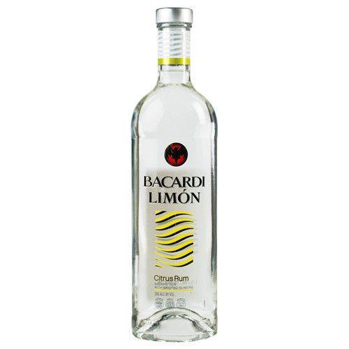 Bacardi Limon Citrus Rum Proof: 75  50 mL