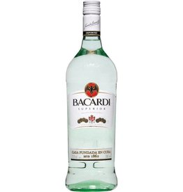 Bacardi Superior Rum Proof: 80  750 mL