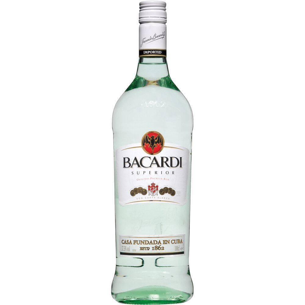 Bacardi Superior Rum Proof: 80  750 mL