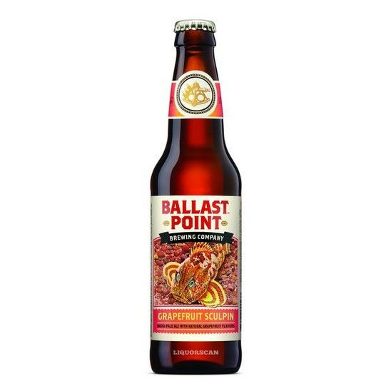 Ballast Point Brewing Co. Grapefruit Sculpin ABV: 7%  6 Pack