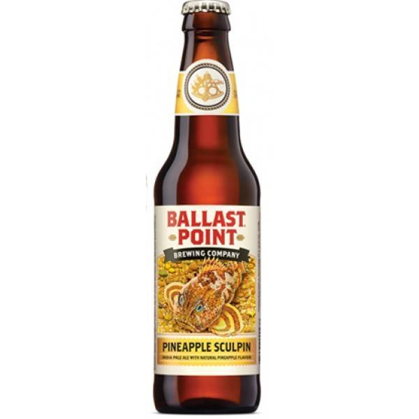 Ballast Point Brewing Co. Pineapple Sculpin Can ABV: 7%