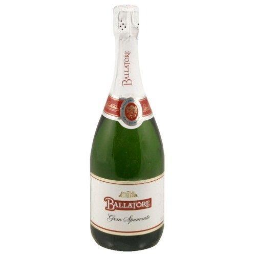 Ballatore Gran Spumante Sparkling Wine ABV: 8.2%  750ml