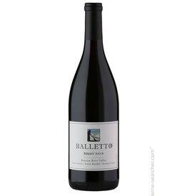 Balletto Pinot Noir 2015 ABV: 14.2%  750ml