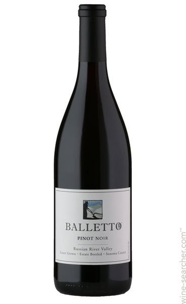Balletto Pinot Noir 2015 ABV: 14.2%  750ml