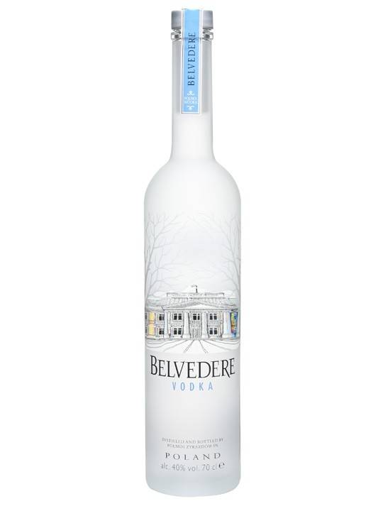Belvedere Vodka Proof: 80  750 ml