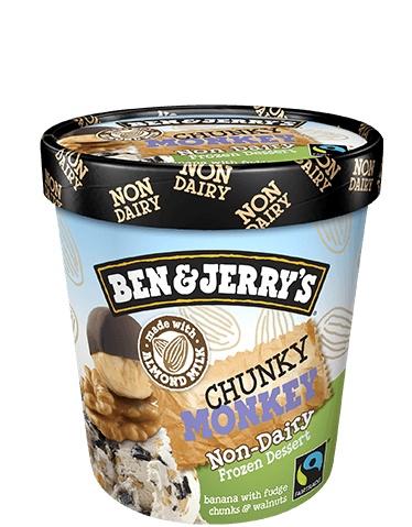 Ben & Jerry's Chunky Monkey Non-Dairy Frozen Dessert 1 Pt