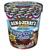 Ben & Jerry's Stephen Colbert's Americone Dream Ice Cream 1 Pt