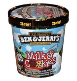 Ben & Jerry's Milk & Cookies Ice Cream 1 Pt