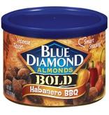 Blue Diamond Almonds Can Bold Habanero BBQ 6oz