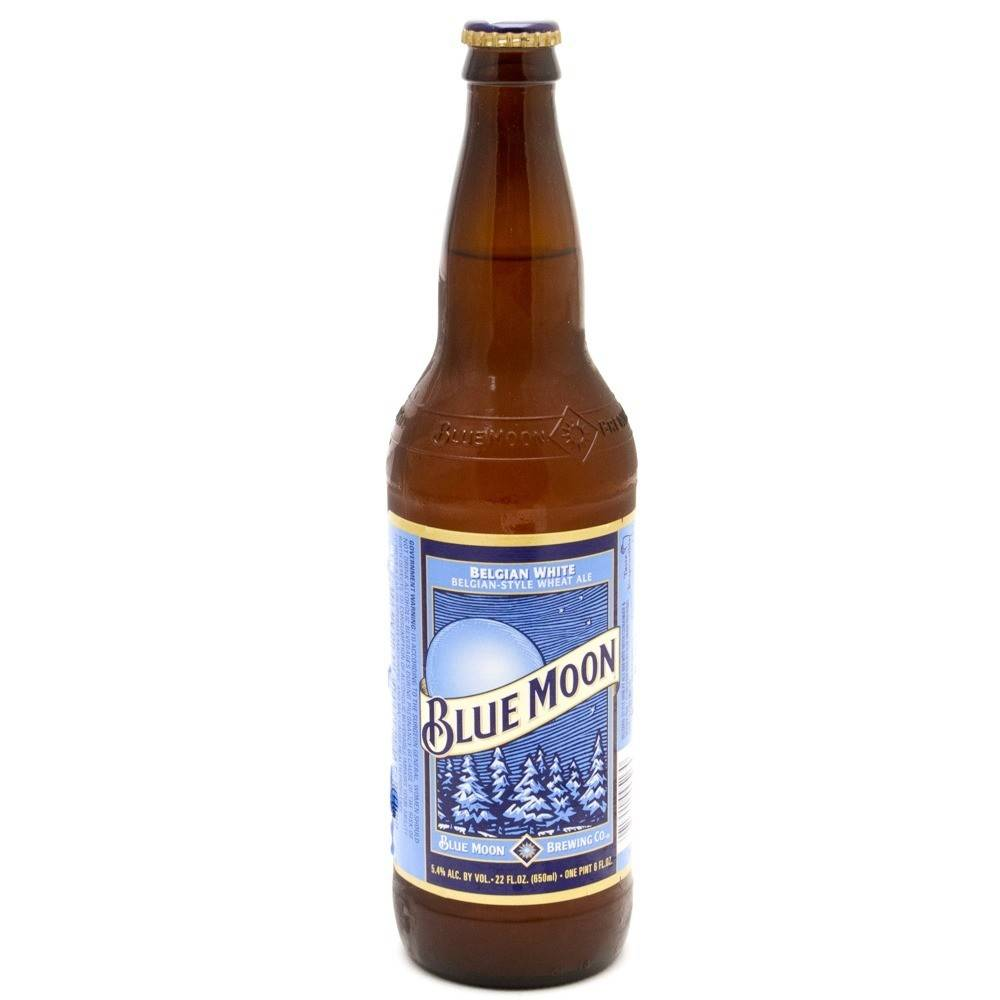 Blue Moon Belgian White ABV: 5.4%  12 Pack