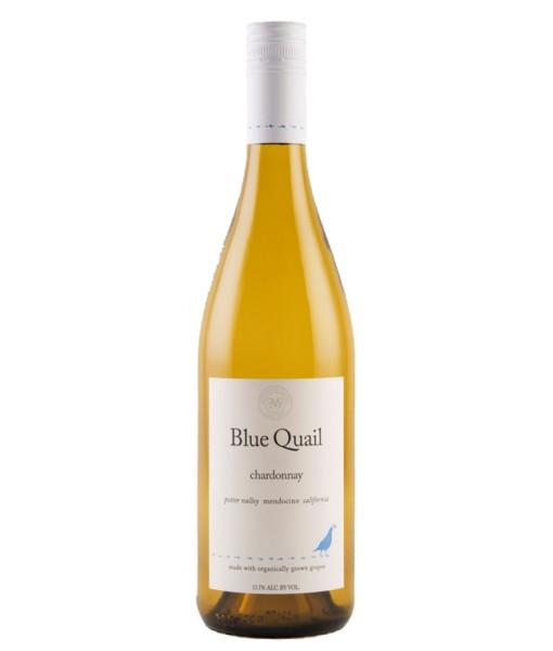 Blue Quail Chardonnay ABV: 14.1%  750ml