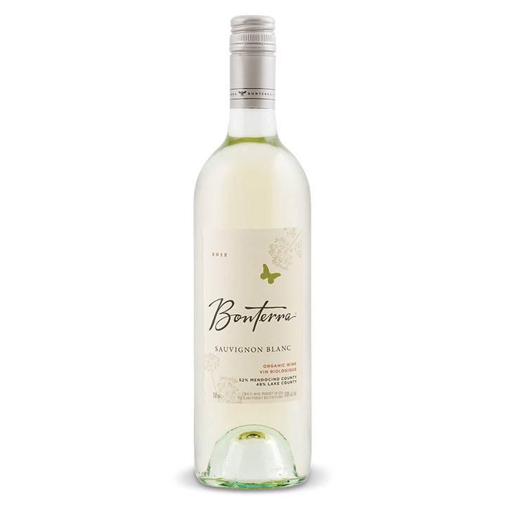 Bonterra Sauvignon Blanc 2016 ABV: 13%  750 mL