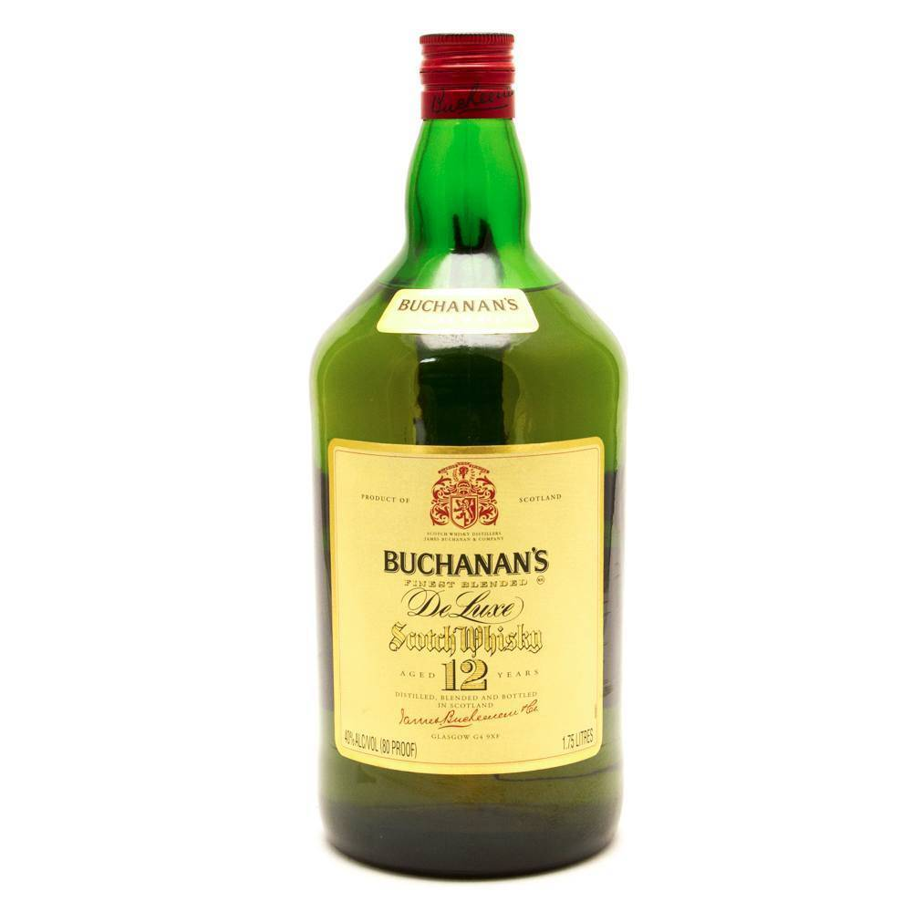 Buchanan 12 Year Blended Scotch Whisky Proof: 80  750 mL
