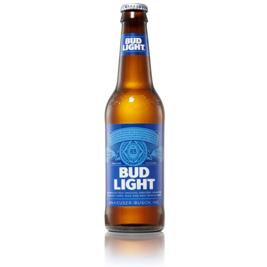 Bud Light ABV: 4.3%  25 OZ