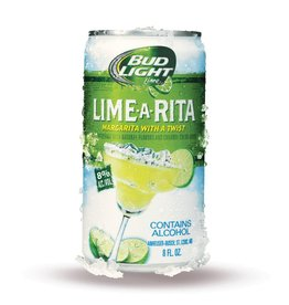 Bud Light Lime-A-Rita ABV: 8%  25 OZ