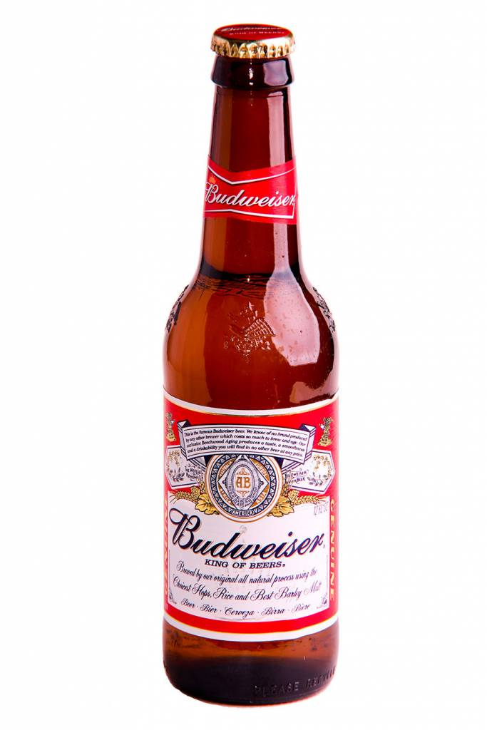 Budweiser Can ABV: 5%  6 Packs