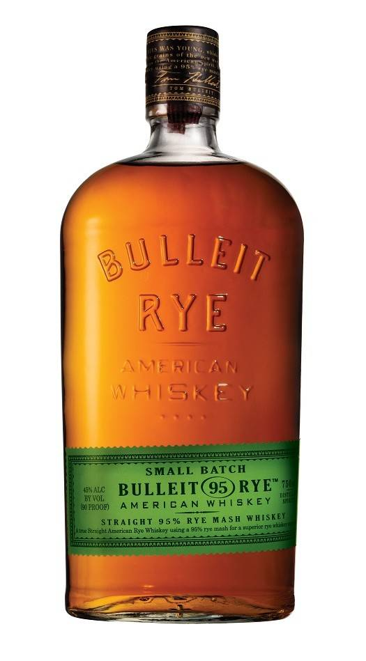 Bulleit Rye American Whiskey Proof: 90  750 mL
