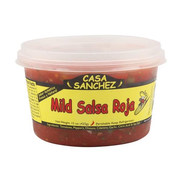 Casa Sanchez Mild Salsa Roja