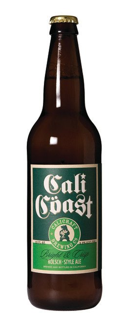 Calicraft Brewing Co. Cali Coast Kolsch Style Ale ABV: 5.2%  6 Pack