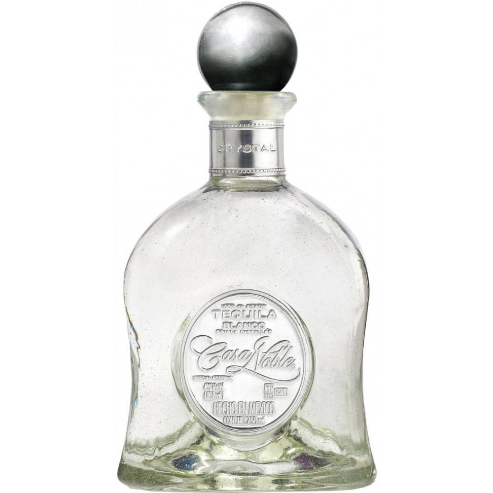 Casa Noble Crystal Blanco Tequila Proof: 80  375 mL