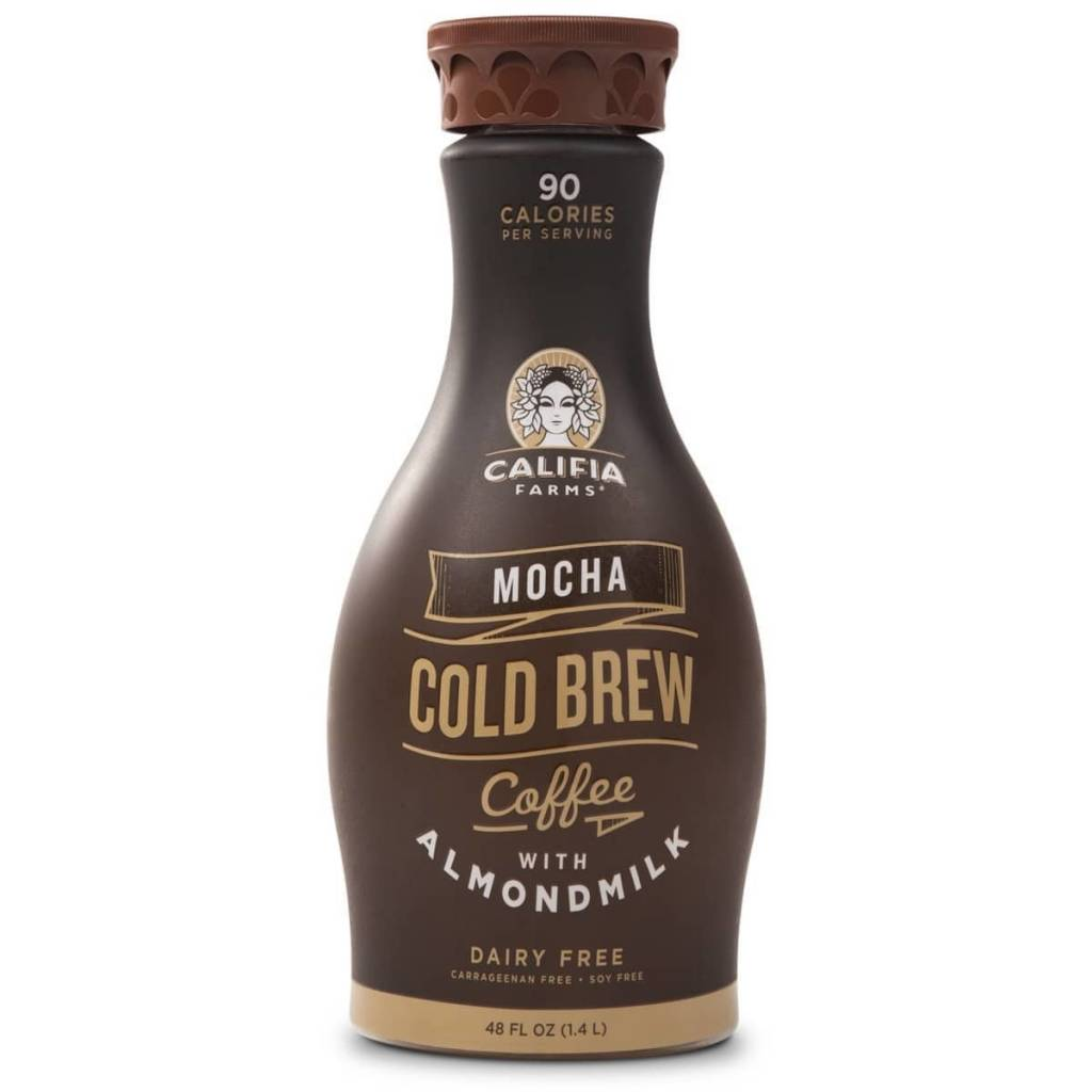Califia Farms Dairy & Soy Free Mocha Almond Milk Iced Coffee 48 OZ