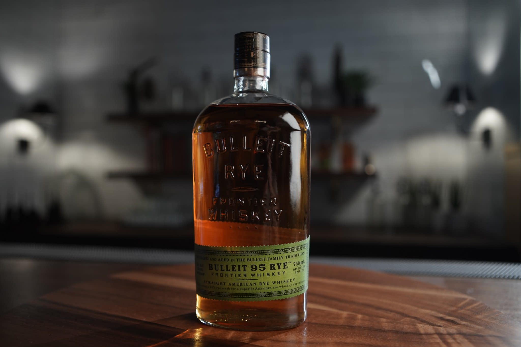 Bulleit Bourbon Rye Whiskey Proof: 90  375 mL