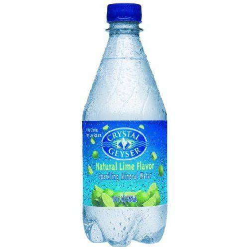 Crystal Geyser Lime Sparkling Water 1 L