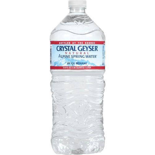 Crystal Geyser Alpine Water 1L
