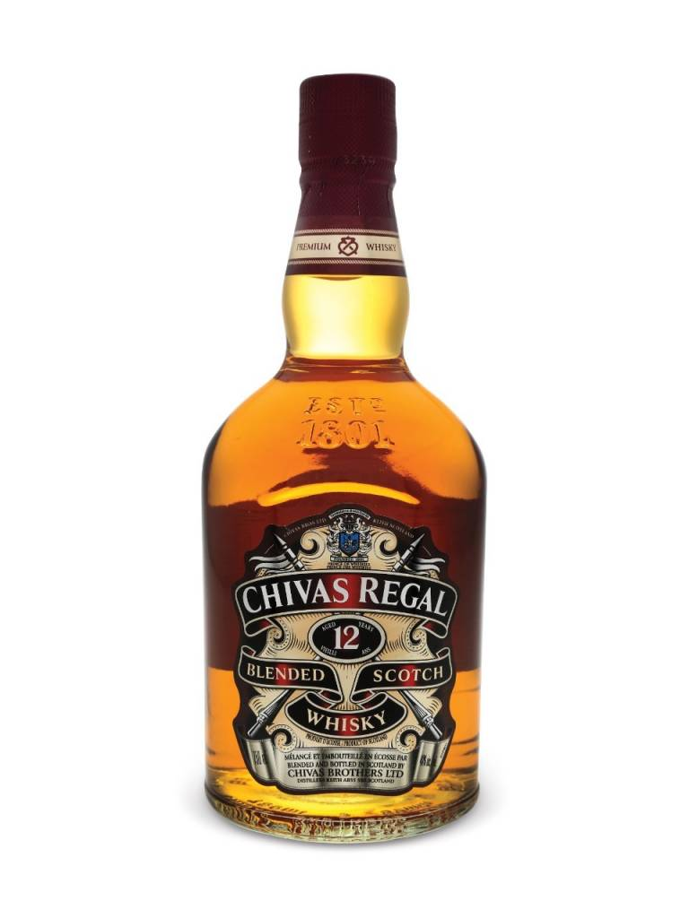 Chivas Regal 12 Years Old Scotch Whisky Proof: 80  1.75L