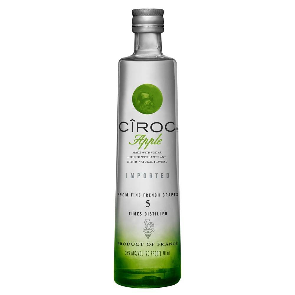 Ciroc Apple Vodka Proof: 80  750 Ml
