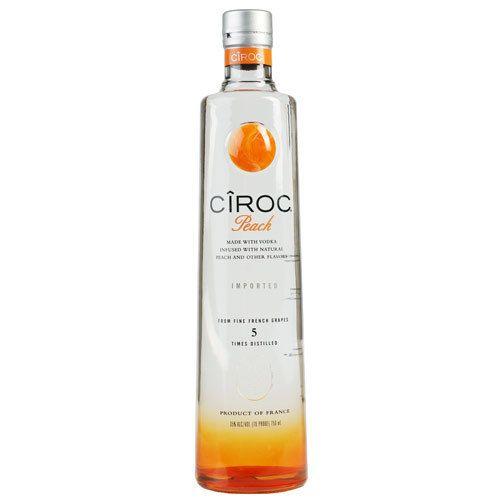Ciroc Peach Vodka Proof: 80  750 mL