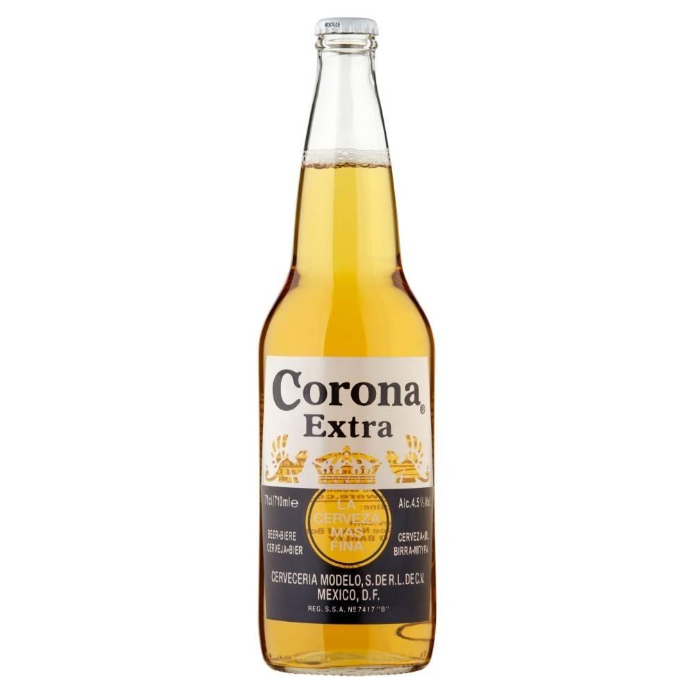 Corona Extra ABV: 4 5% 24 OZ