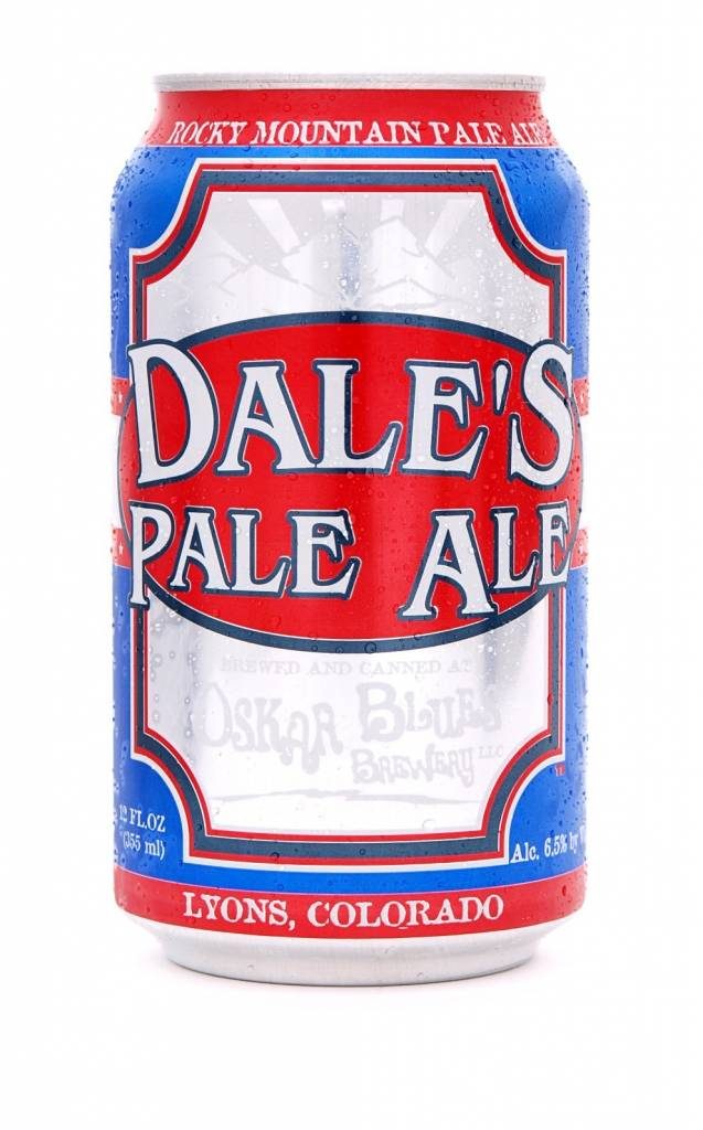 Oskar Blues Brewery Dale's Pale Ale ABV: 6.5%  6 Pack