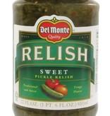 Del Monte Sweet Pickle Relish 12 oz