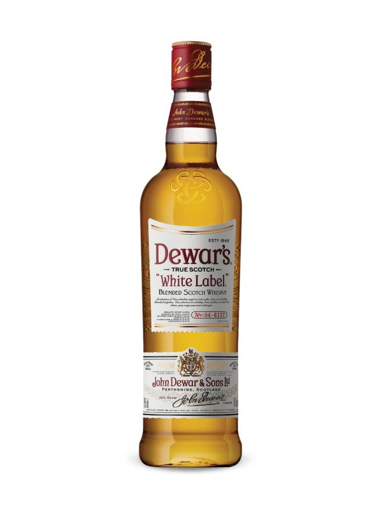 Dewar's White Label Scotch Whisky ABV 40 % 750 ML