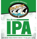 Eel River Brewing Co Organic IPA ABV: 7.2% 6 Pack