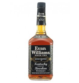 Evan Williams Kentucky Straight Bourbon Whiskey Proof: 86  750 mL