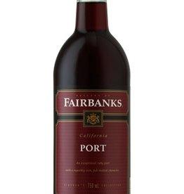Fairbanks California Port ABV: 18%  750ml